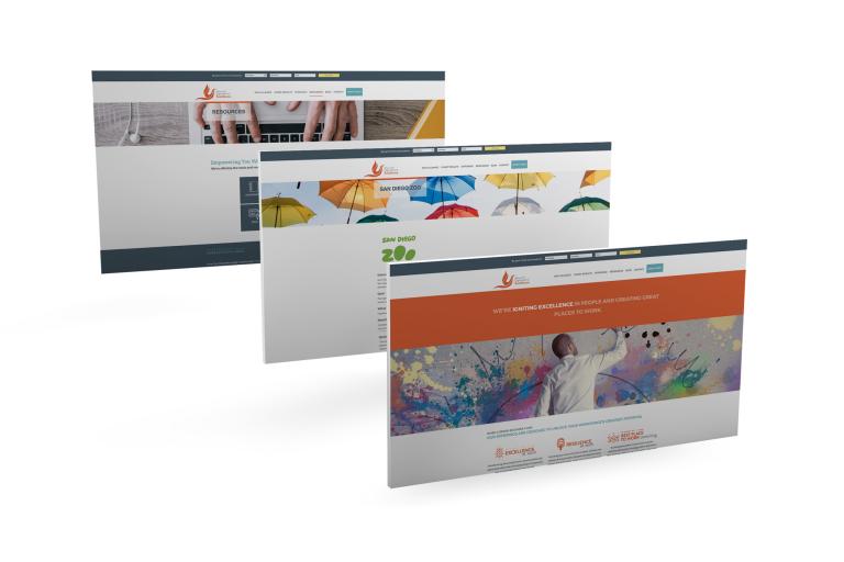 HR Consultant Website Design